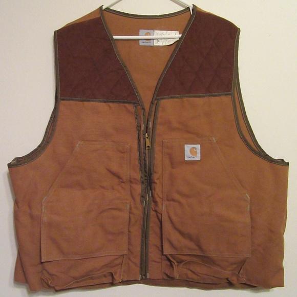 6a6be361df269 Carhartt Jackets & Coats | Hunting Shooting Pheasant Bird Vest Xxl ...